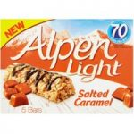 Alpen Light Bar Salted Caramel Multipack 5x19g