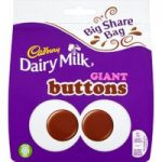 Cadbury Dairy Milk Giant Buttons Bag 252g