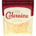 Coleraine Medium Grated Cheese 200g