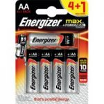 Energizer® Max® AA Batteries 4 + 1 Free Pack