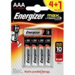 Energizer® Max® AAA Batteries 4 + 1 Free Pack