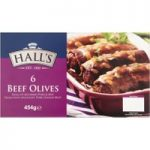 Hall's 6 Beef Olives 454g
