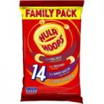 Hula Hoops Family Meaty Pack 14 x 24g