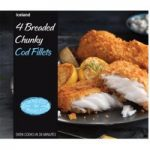 Iceland Luxury Chunky Cod Fillets in Breadcrumbs 500g