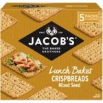 Jacob's Lunch Bakes Crispbreads Mix Seed 190g