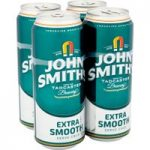 John Smith's Extra Smooth Ale Can 4 x 440ml