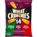 Wheat Crunchies Variety Pack 14 x 23g