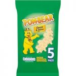 Pom-Bear Cheese & Onion Flavour Potato Snacks 5 x 15g