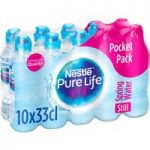 Nestle Pure Life Still Spring Water 10 x 33cl