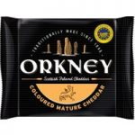 Orkney Mature Coloured Scottish Island Cheddar 200g