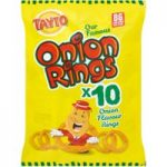 Tayto Onion Rings 10 x 17g (170g)