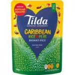 Tilda Caribbean Rice and Peas Basmati Rice 250g