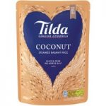 Tilda Coconut Steamed Basmati Rice 250g
