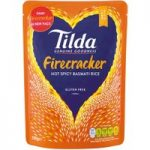 Tilda Firecracker Hot Spicy Basmati Rice 250g
