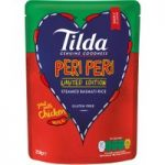 Tilda Limited Edition Peri Peri Steamed Basmati Rice 250g