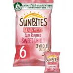 Sunbites Sweet Chilli Multigrain Snacks 6x25g