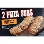 Iceland 2 Cheese & Tomato Pizza Subs 270g