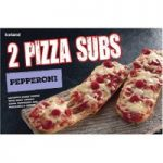 Iceland 2 Pepperoni Pizza Subs 264g