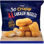 Iceland 30 Crispy Xl Chicken Nuggets 660g
