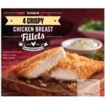 Iceland 4 Crispy Chicken Breast Fillets 380g