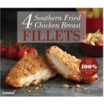 Iceland 4 Southern Fried Chicken Breast Fillets 380g