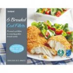 Iceland 6 Breaded Cod Fillets 750g