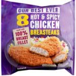 Iceland 8 Hot & Spicy Chicken Breasteaks 760g