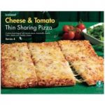 Iceland Cheese & Tomato Thin Sharing Pizza 510g