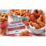 Iceland Let's Eat American Family Box 1.42Kg