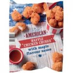 Iceland Let's Eat American Waffle Chicken Chunks with Maple Flavour Sauce 400g