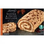 Iceland Luxury Toffee & Pecan Roulade Serves 6 420g