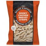 Iceland Ready Cooked Smokey Chicken Breast Strips 425g
