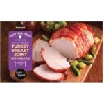 Iceland Roast From Frozen Boneless Butter Basted Turkey Breast Joint With Bacon 525g