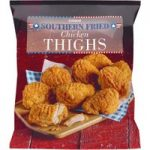 Iceland Let's Eat American Southern Fried Chicken Thighs 850g
