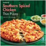 Iceland Southern Spiced Chicken Thin Pizza 336g