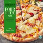 Iceland Stonebaked Four Cheese Pizza 314g